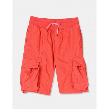 GAP Boys Pink Solid Shorts