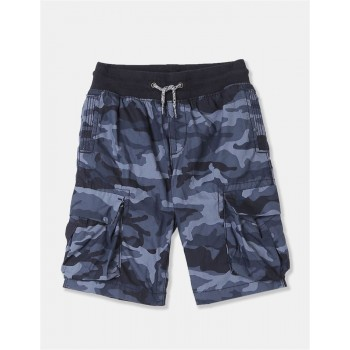GAP Boys Blue Printed Shorts
