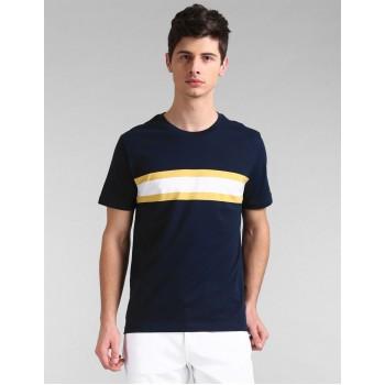 Gap Men Casual Wear Navy T-Shirt
