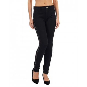 Guess Women Embellished Casual Wear Trouser