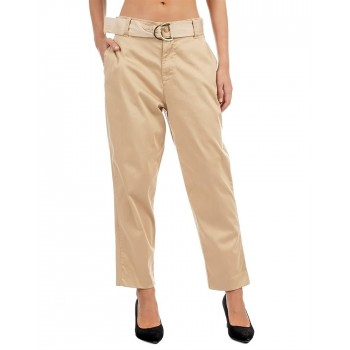 Guess Women Solid Casual Wear Trouser