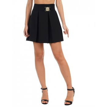 Guess Women Solid Casual Wear Skirt