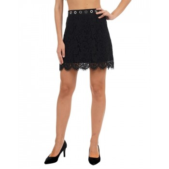 Guess Women Lace Casual Wear Skirt
