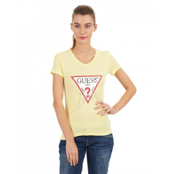 Guess Women Printed Casual Wear T-Shirt