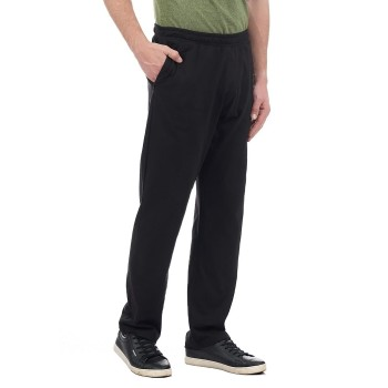Hanes Men Black Casual Wear Track Pants
