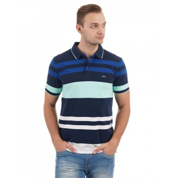 Izod Casual Wear Striped Men T-shirt