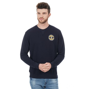 Izod Casual Wear Solid Men Sweatshirt