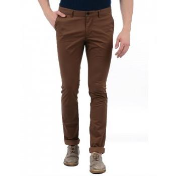 Indian Terrain Casual Wear Solid Men Trouser