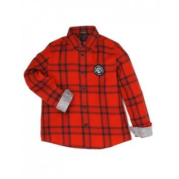 Indian Terrain Boys Casual Wear Checkered Shirt