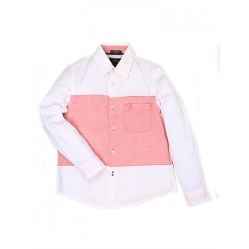 Indian Terrain Casual Wear Solid Boys Shirt