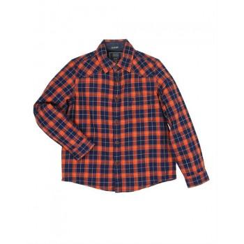 Indian Terrain Casual Wear Checkered Boys Shirt