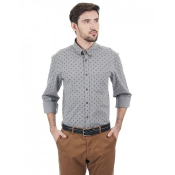 Indian Terrain Men Casual Wear Printed Shirt