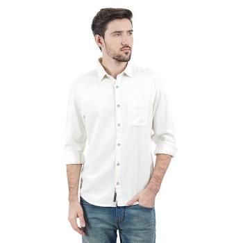 Indian Terrain Casual Wear Solid Men Shirt
