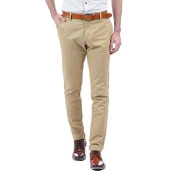 Indian Terrain Men Casual Wear Solid Trousers