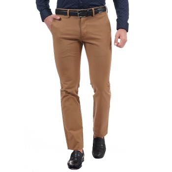 Indian Terrain Casual Wear Solid Men Trousers