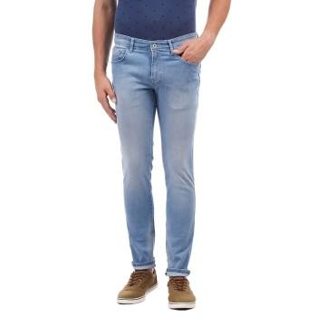 Indian Terrain Men Solid Casual Wear Jeans
