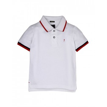 Indian Terrain Boys Casual Wear Solid Polo T-Shirt