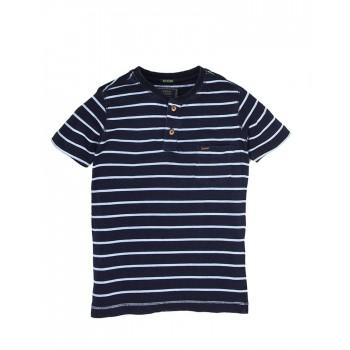 Indian Terrain Boys Casual Wear Striped T-Shirt