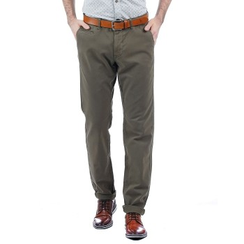 Indian Terrain Men Casual Wear Solid Trousers