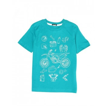 Indian Terrain Casual Wear Graphic Print Boys T-Shirt