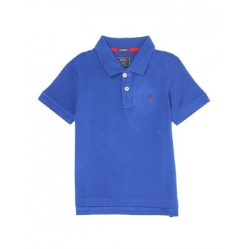 Indian Terrain Kids Boys Casual Wear Blue T-Shirt
