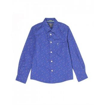 Indian Terrain Kids Boys Casual Wear Blue Shirt