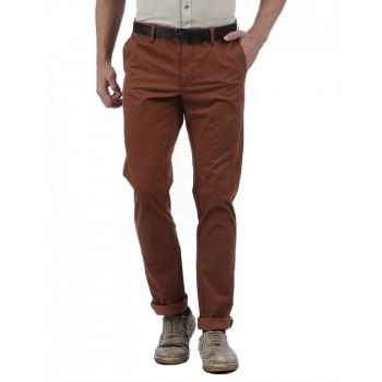 Indian Terrain Casual Wear Self Design Men Trouser