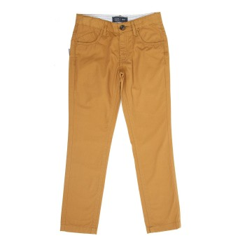 Indian Terrain Kids Boys Casual Wear Brown Trouser