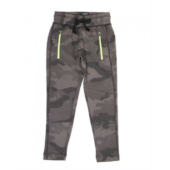 Indian Terrain Kids Boys Casual Wear Grey Track Pant