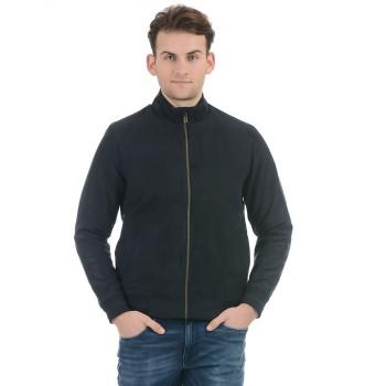 Indian Terrain Men Casual Wear Black Jacket