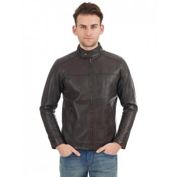 Indian Terrain Men Brown Casual Wear Jacket