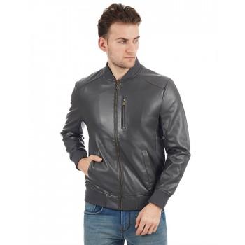 Indian Terrain Men Grey Casual Wear Jacket