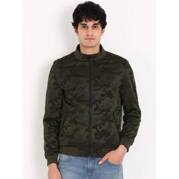 Indian Terrain Casual Wear Military Camouflage Men Jacket