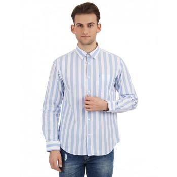 Indian Terrain Casual Wear Striped Men Shirt