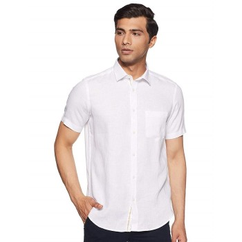 Indian Terrain Men Solid Casual Wear Shirt