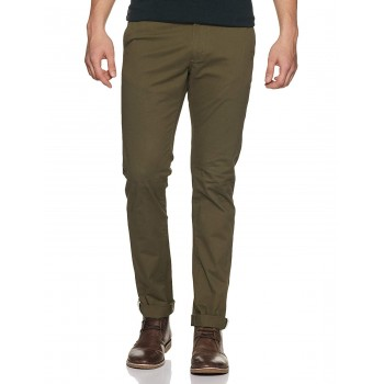 Indian Terrain Men Solid Casual Wear Trousers