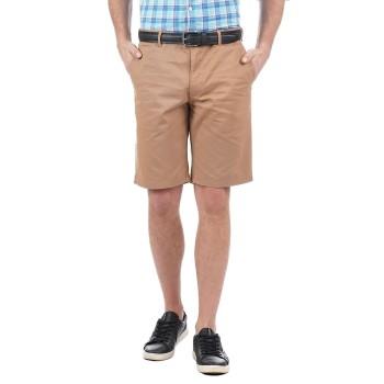 Indian Terrain Men Casual Wear Solid Shorts
