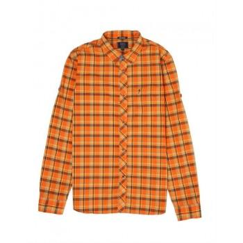 Indian Terrain Kids Boys Casual Wear Orange Shirt