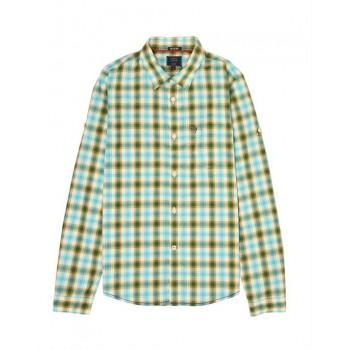 Indian Terrain Kids Boys Casual Wear Green Shirt