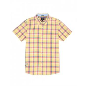 Indian Terrain Kids Boys Casual Wear Yellow Shirt