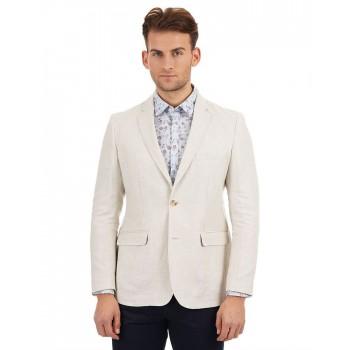 Indian Terrain Men Casual Wear Solid Blazer