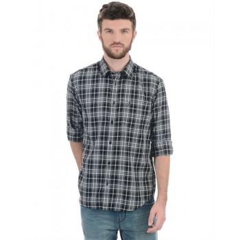 Indian Terrain Men Casual Wear Checkered Shirt