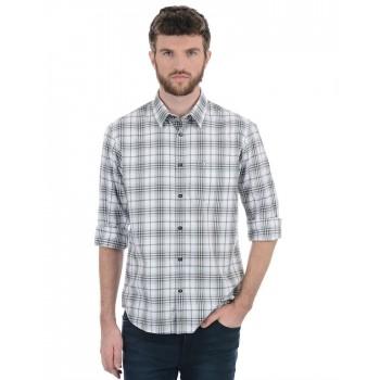 Indian Terrain Men Casual Wear Checkered Shirt