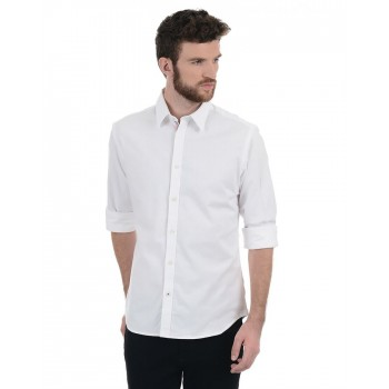 Indian Terrain Men Casual Wear Solid Shirt