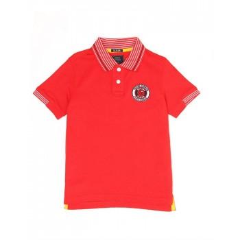 Indian Terrain Kids Boys Casual Wear Red T-Shirt