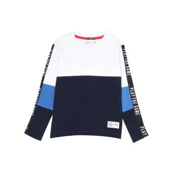 Indian Terrain Kids Boys Casual Wear White T-Shirt