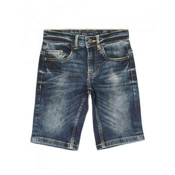 Indian Terrain Kids Boys Casual Wear Blue Shorts