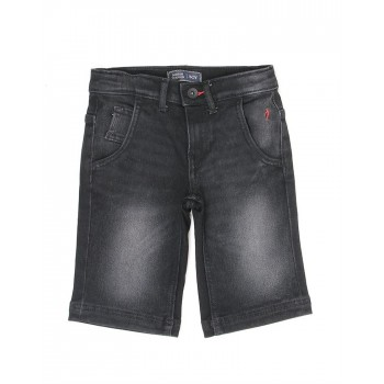 Indian Terrain Kids Boys Casual Wear Black Shorts