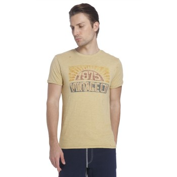 Jack & Jones Men Casual Wear Printed T-shirt