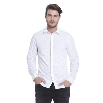 Jack n Jones Men Casual Wear Striped Shirt